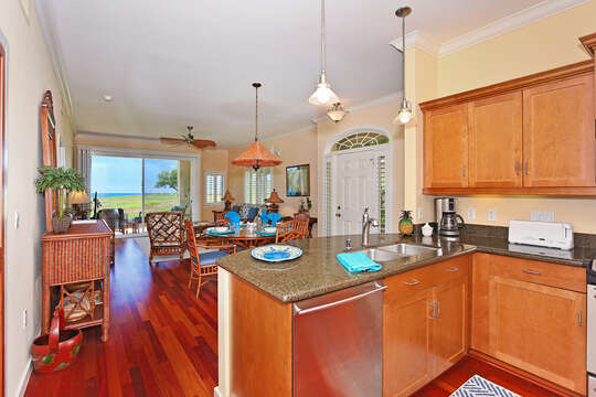 There's even an Ocean View from the Kitchen
