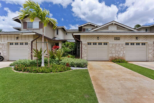 Front Picture of Our Ko Olina Condo.
