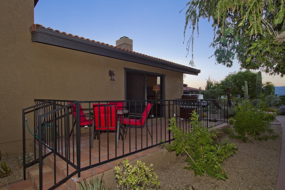 Sunset Patio and Private Gas Grill