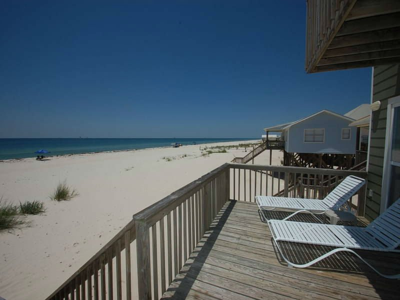 Front Deck with Beach Views