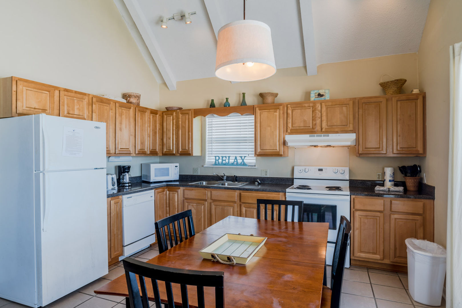 The Fully Equipped Kitchen Was Renovated In 2009 with new appliances.