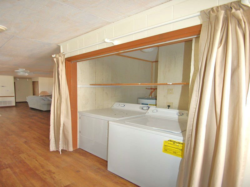 Washer and Dryer Included in our Bellingrath Rental