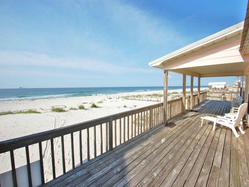Enjoy spectacular beach front views