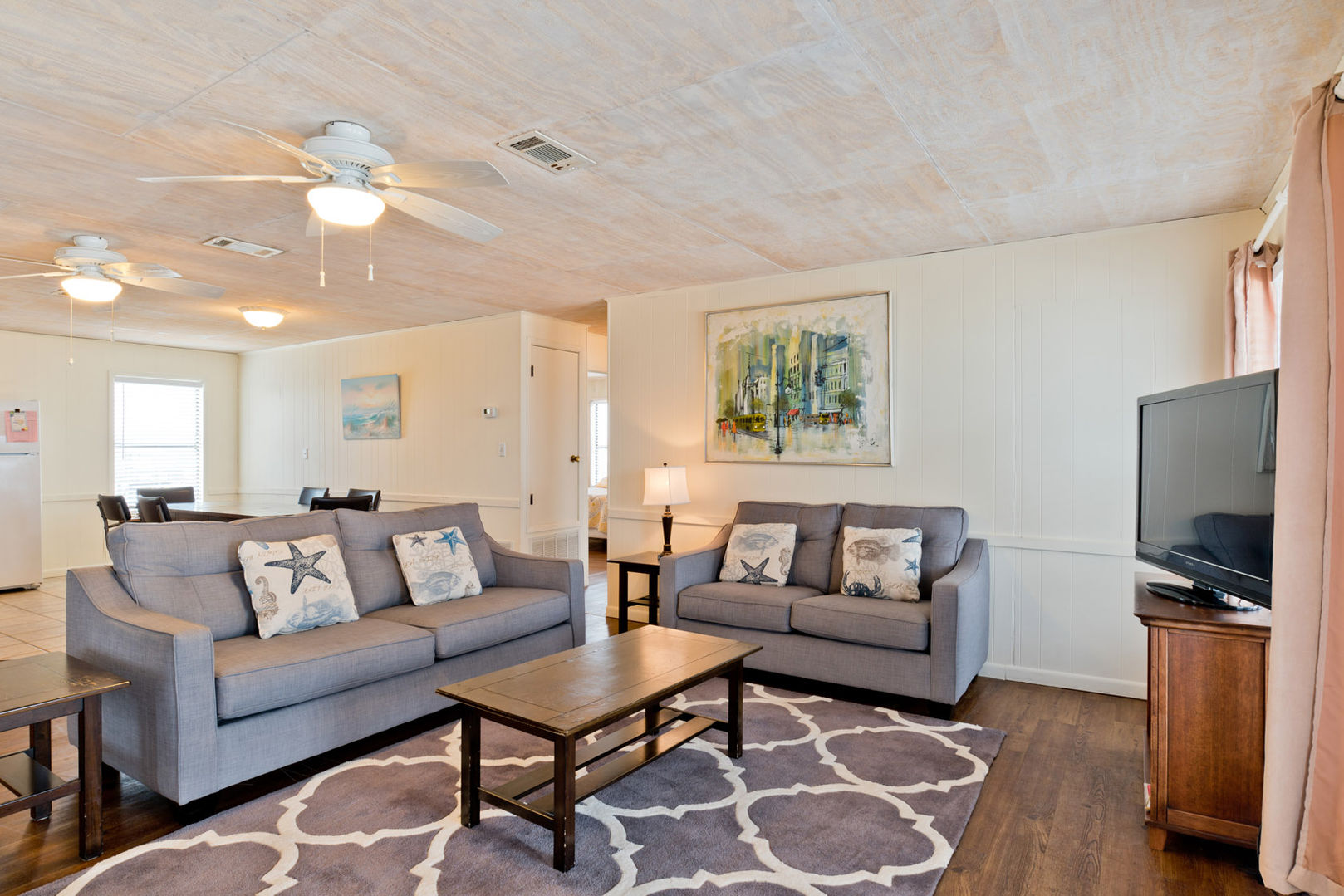 Spacious Living Area in our Fort Morgan Alabama Beach Rental