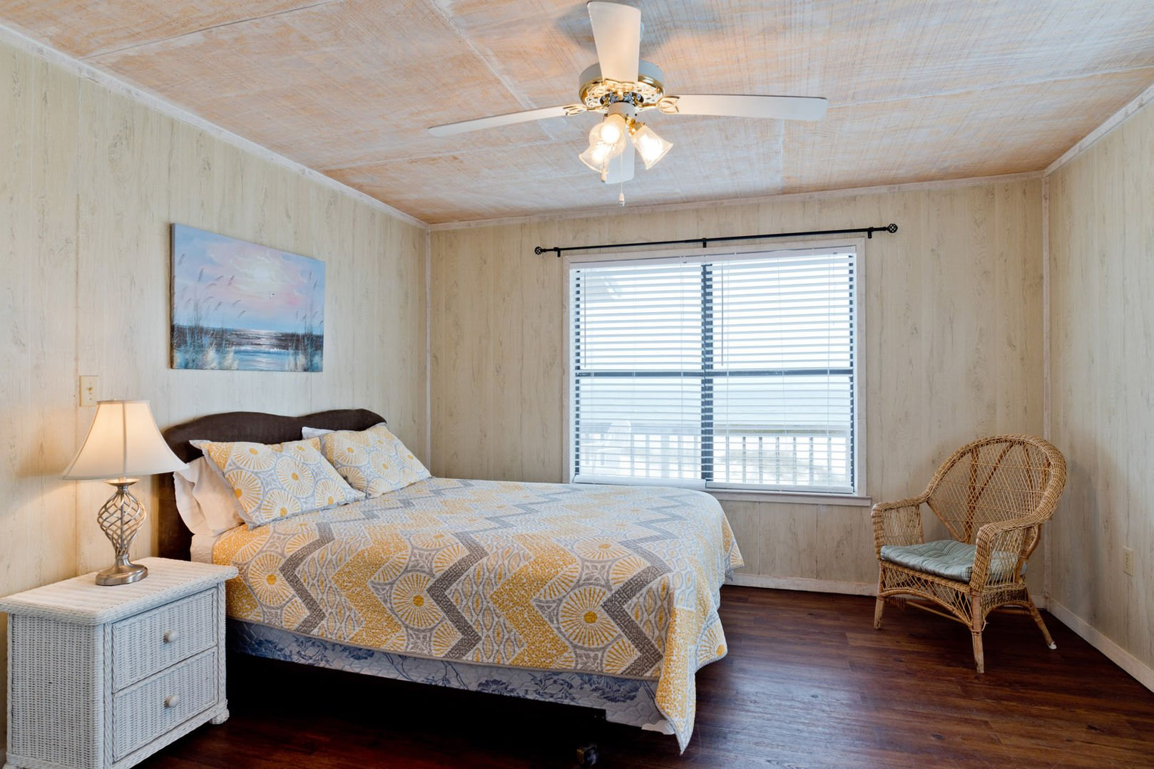 Master Bedroom with Beachfront View