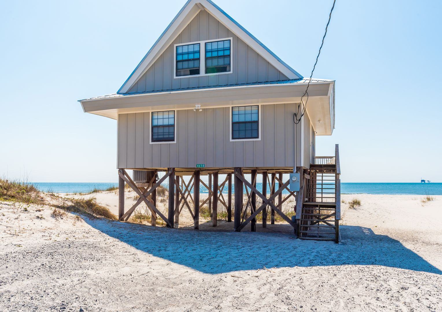 This Beach House Rental in Gulf Shores Is Directly Beach Front