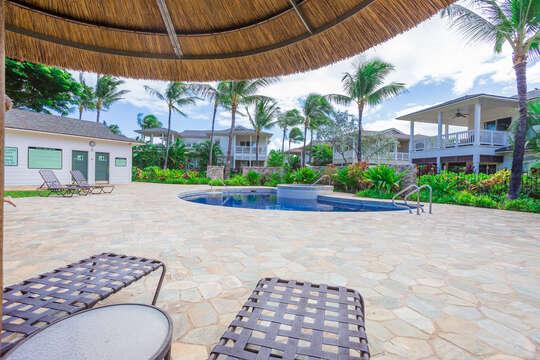 Second, Quieter Pool & Hot Tub at Coconut Plantation