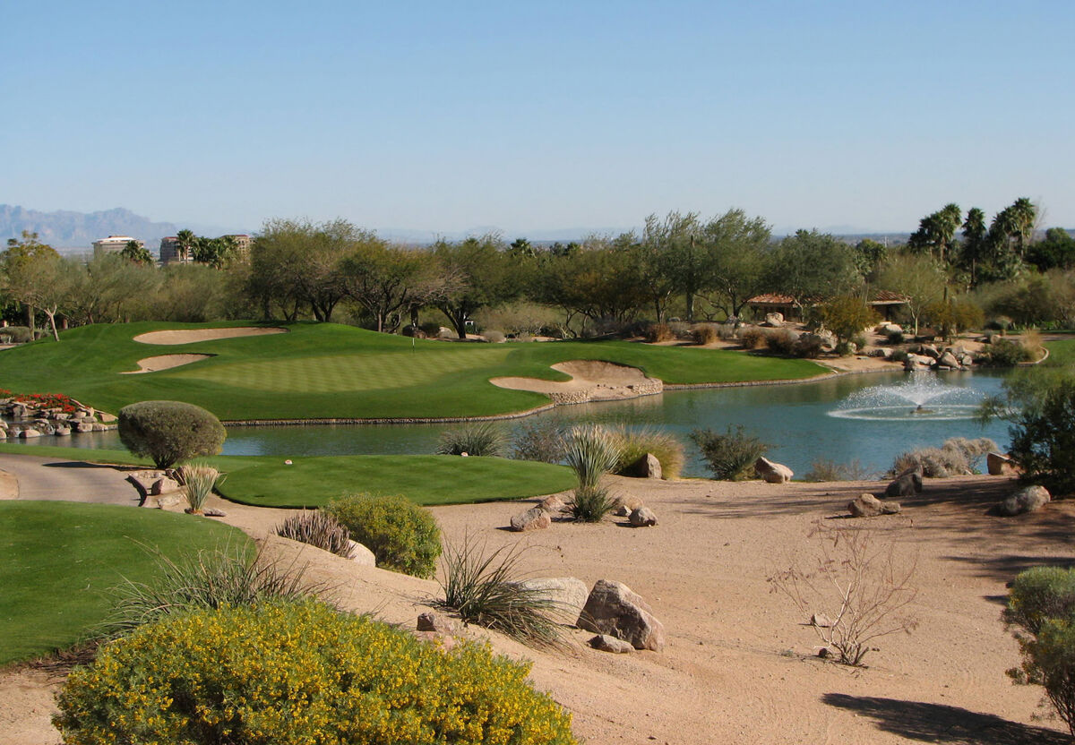 Near South Scottsdale Golf Course