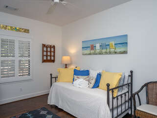Inviting guest bedroom