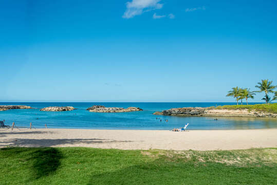 Picture of the Ko Olina Lagoon.