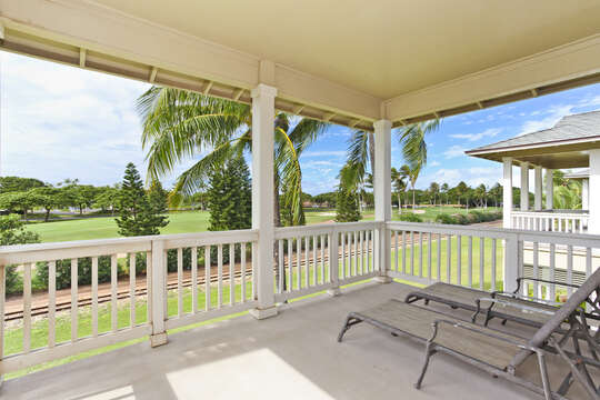 A View of the Golf Course from your Upper Lanai