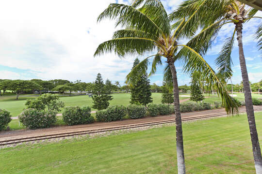 A View of the Golf Course from the Ko Olina Condo.
