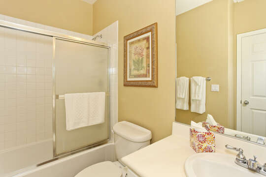 Second Full Bath in Ko Olina Condo with Shower.