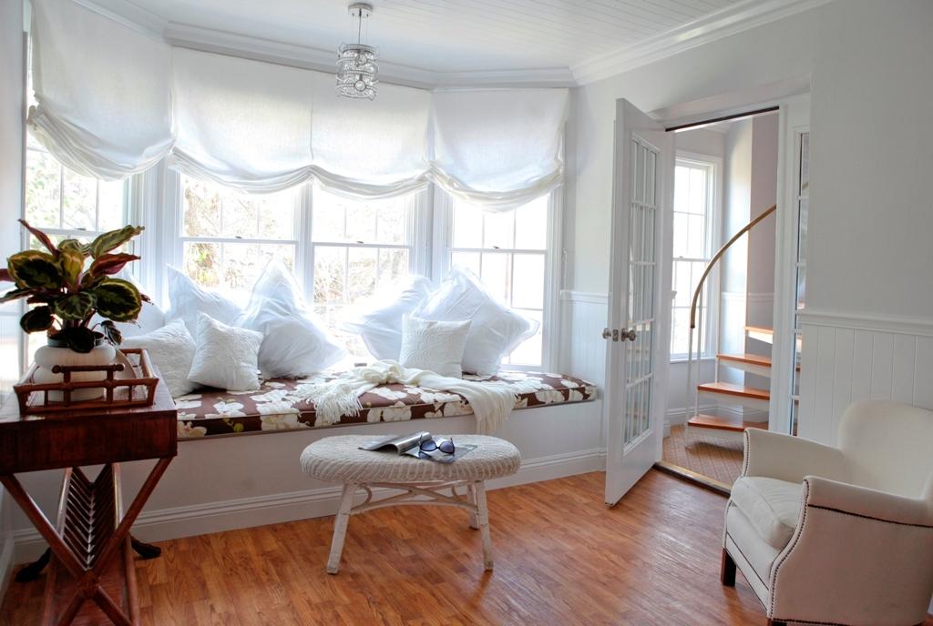 Master Bedroom window seat