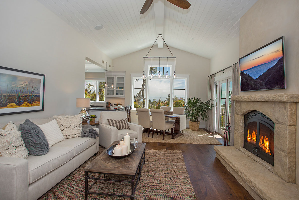 Cozy Casita Living Room
