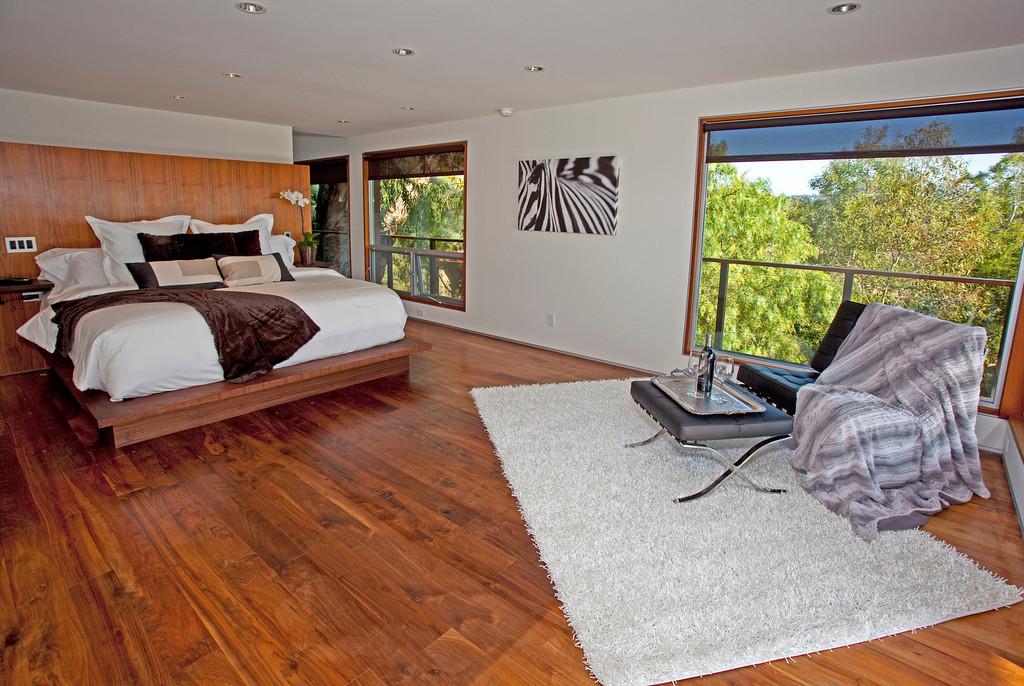 Master Bedroom on lower level