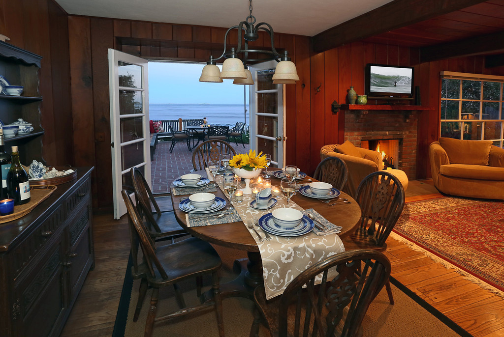 French doors from Dining Room to patio