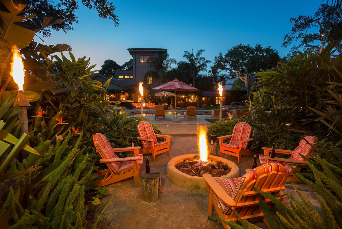 The firepit is a wonderful place for after hours conversation