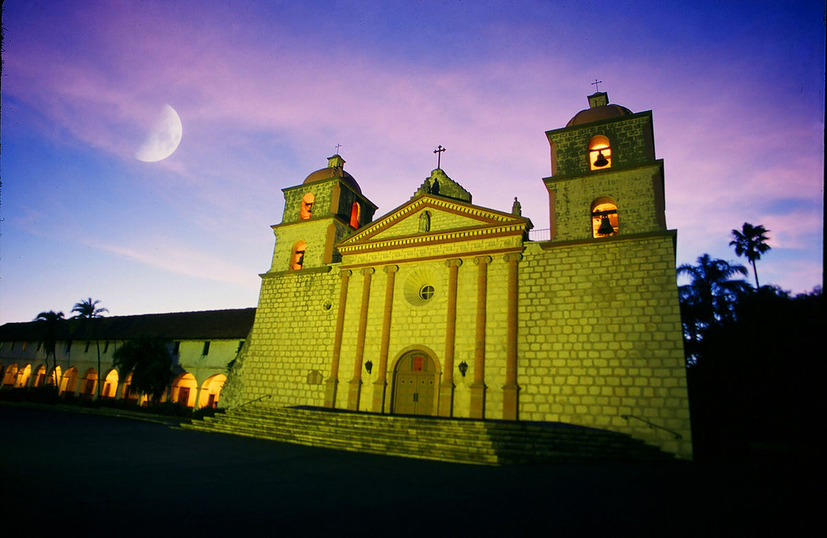 Tour the Historic Santa Barbara Mission