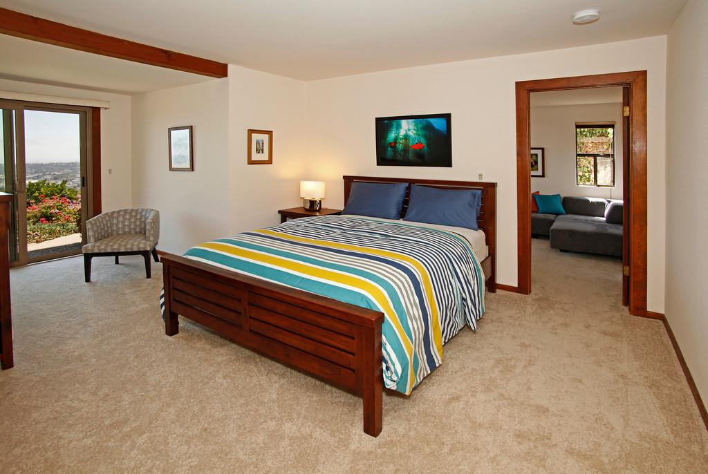 Bedroom #2 in Family Suite