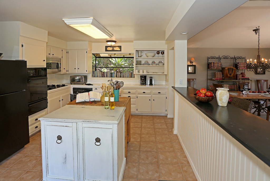Open Kitchen is bright and efficient