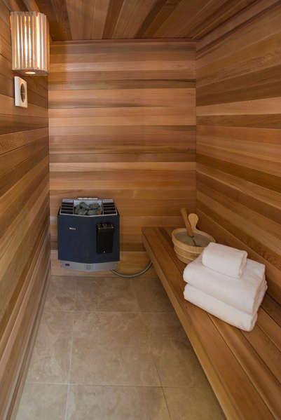 Sauna in Master Bathroom #1
