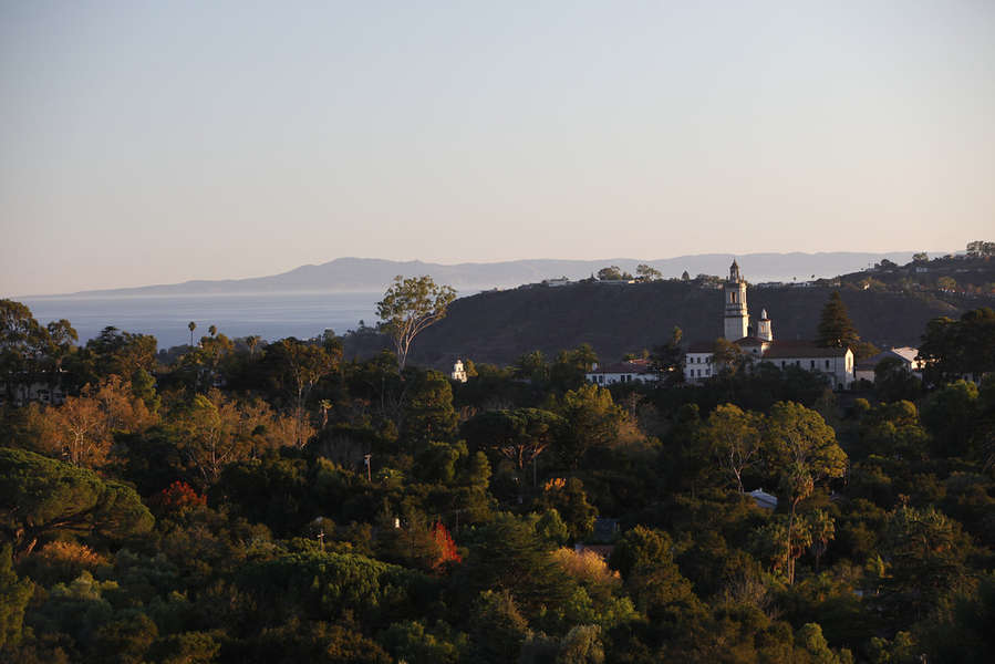 Views of the Seminary and Channel Islands