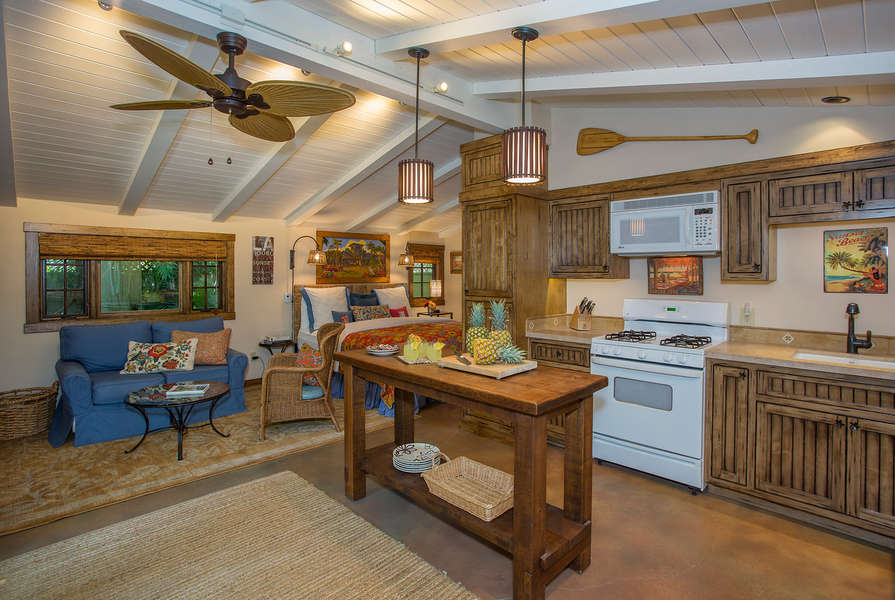 Studio Cottage, newly remodeled and beautiful!