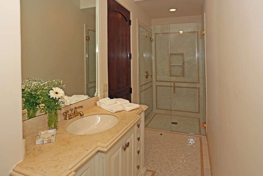 Downstairs Bathroom in Suite #4