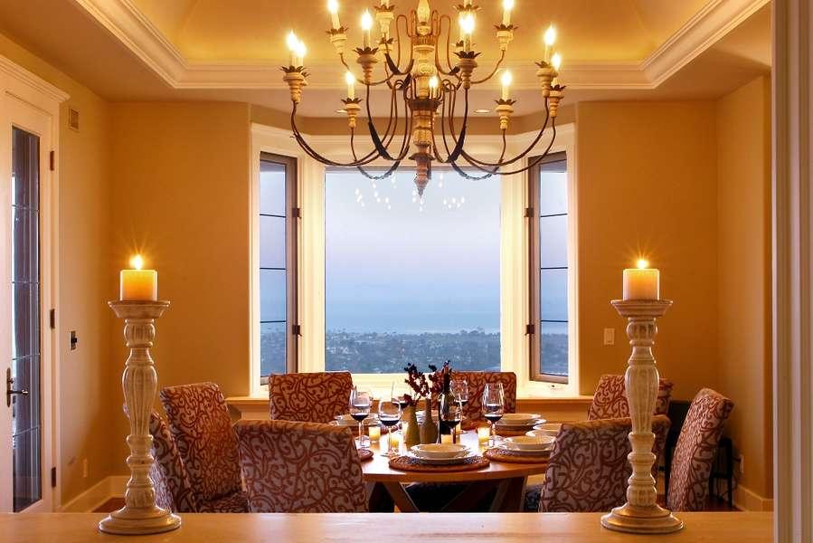 Views from Kitchen pass through window