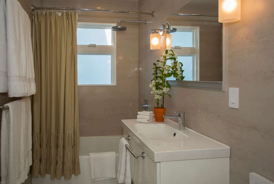 Well appointed bathroom with Toto Neorest system