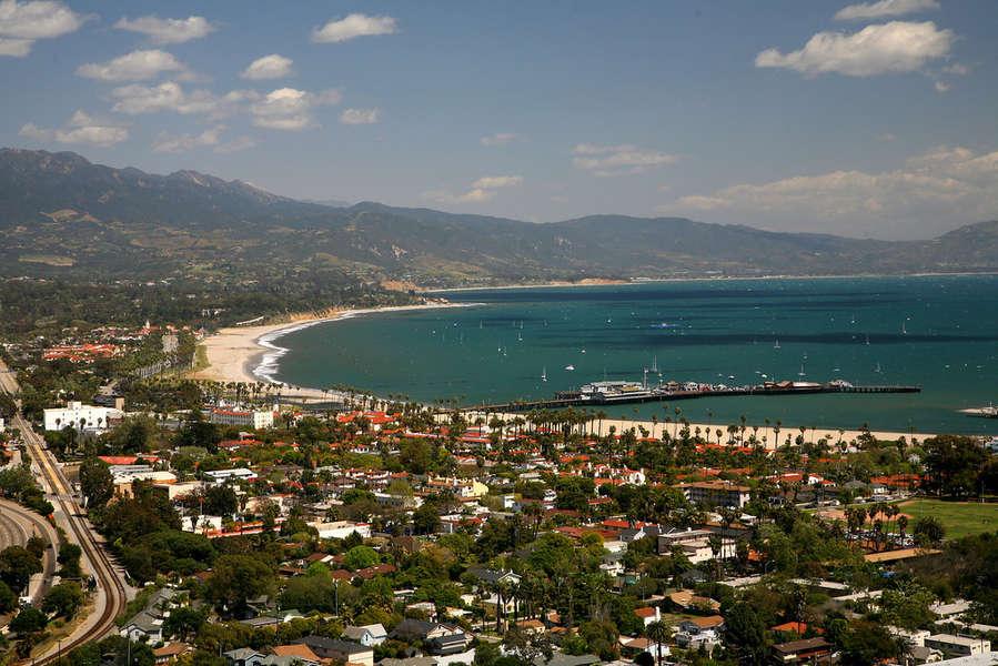 Santa Barbara coast
