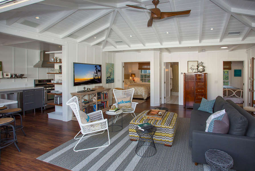 Cute, beachy and cozy