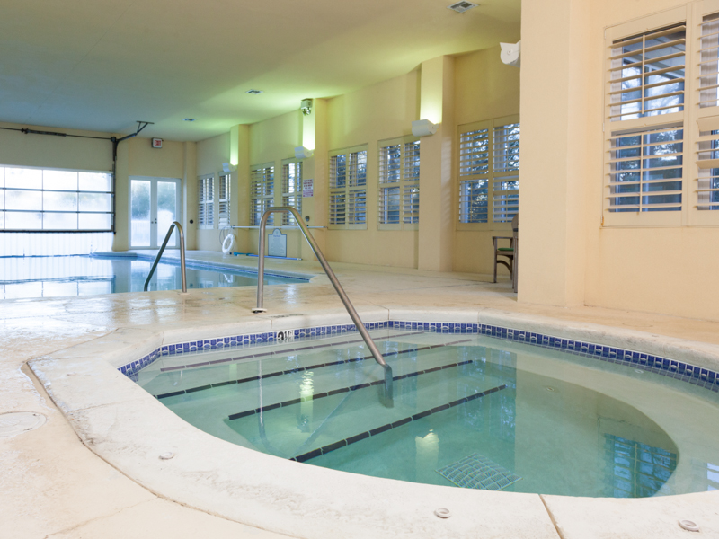 Indoor Pool and Hot Tub at the Resort