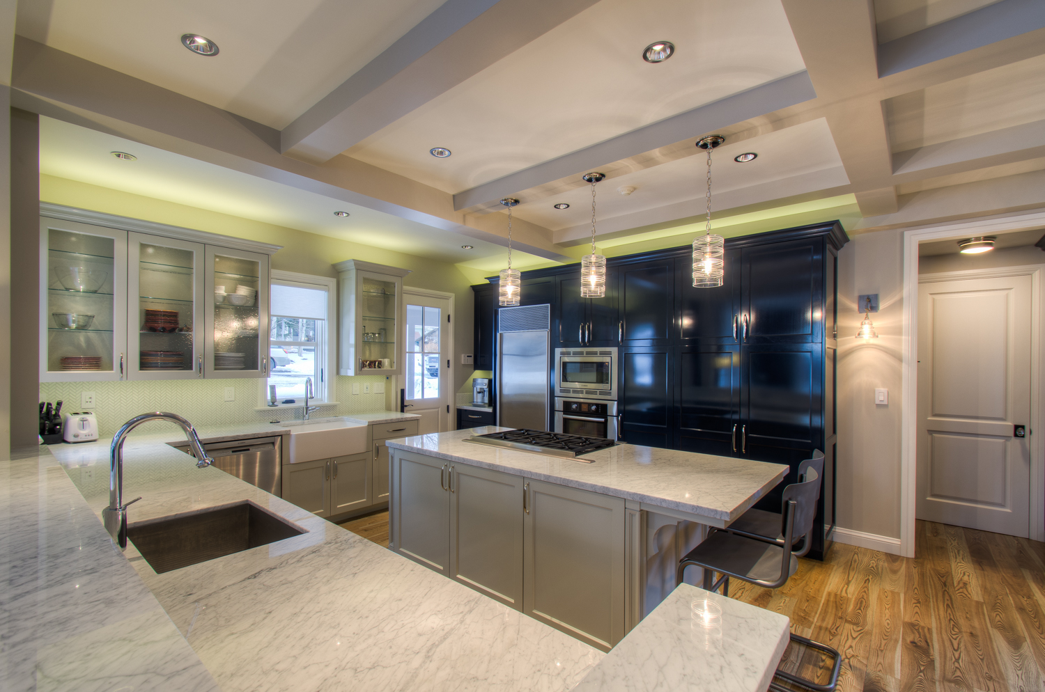Full Kitchen with Spacious Countertops and Stainless Steel Appliances