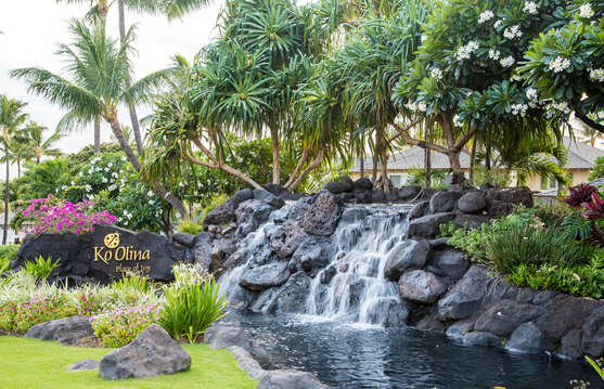 Fountain at the Beach Villas at Ko Olina