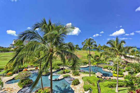Lagoon Pool at Beach Villas at Ko Olina