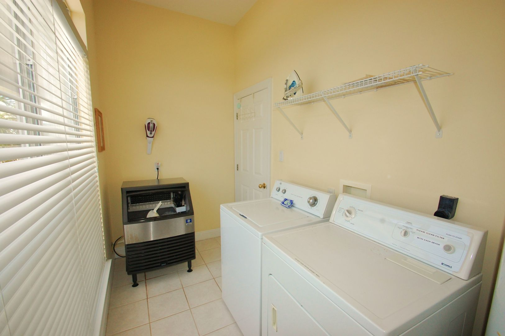 Very large laundry room