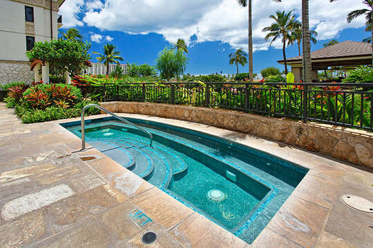 One of Three Hot Tubs on Property