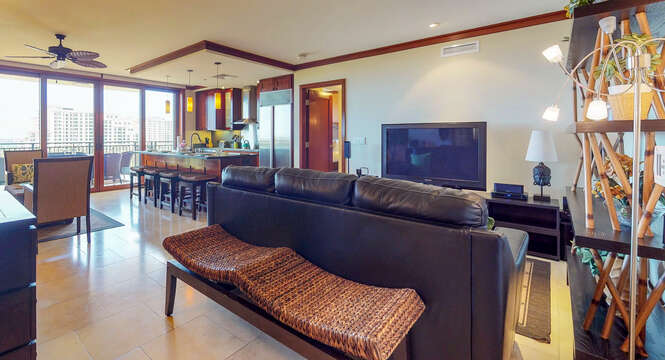 Second Living Area with Couch