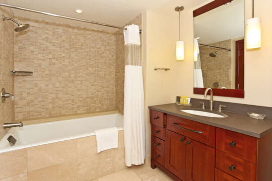 Third Full Bath with Tub / Shower Combo