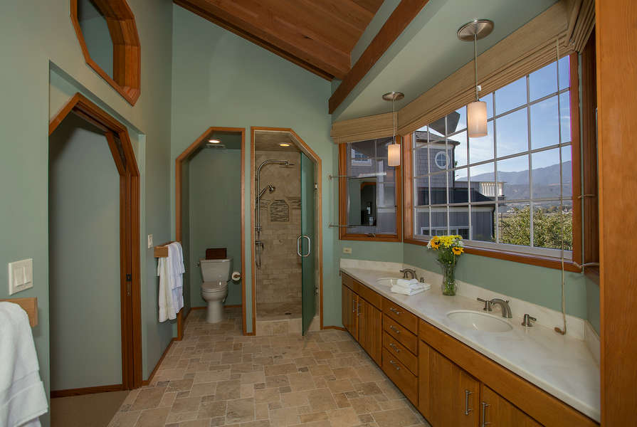 Master Bathroom is spacious