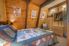 Main Level Bedroom 2 with queen
