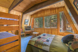 Bunk Room with queen and bunk bed