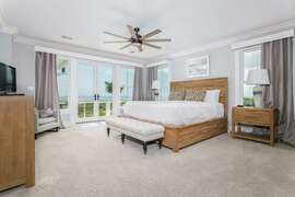 Second Floor King Bedroom- Oceanfront right
