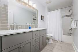 Fully Renovated Bathrooms And New Marble Countertops Second Floor Bath To bunk Bedroom