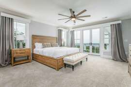 Second Floor King Bedroom- Oceanfront left