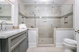 Fully Renovated Bathrooms And New Marble Countertops Second floor king bedroom oceanfront middle