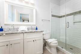 Fully Renovated Bathrooms And New Marble Countertops First Floor Bath To King Bedroom street side right