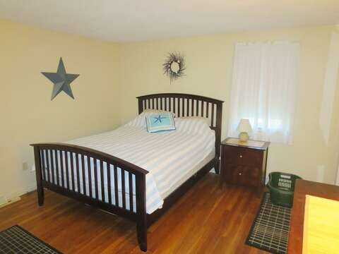 Bedroom #1 with a Queen bed - 26 Ridgevale Road South Harwich Cape Cod New England Vacation Rentals